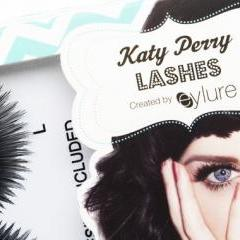 "False eyelashes endorsed by Katy Perry, ""Cool Kitty"" style, Manufactured by Eylure, 2013 (Photo (c) Victoria and Albert Museum,"
