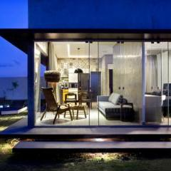 Box House by Brasília-based architecture firm 1:1