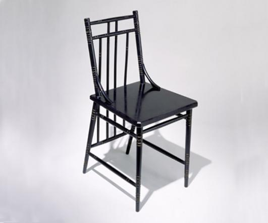 Chair by Christopher Dresser 1880 credit V&A