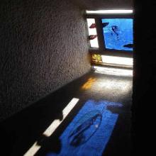 Le Corbusier's Chapel of Notre Dame du Haut vandalised