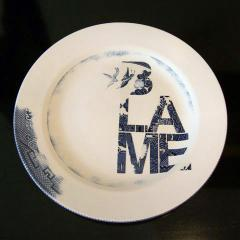 Blame Plate by Karen Ryan 2006