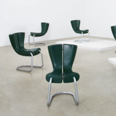 Set of eight 'Komed' chairs by Marc Newson, c. 1996