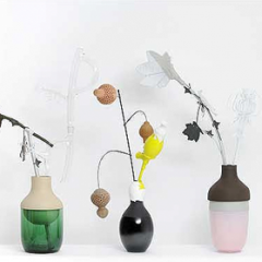 Vases by Hella Jongerius Photo: Morgane Le Galle / Galerie Kreo