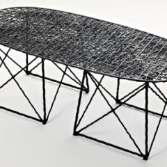 'Carbon' coffee table/bench, 2006 by Bertjan Pot - Phillips de Pury & Company