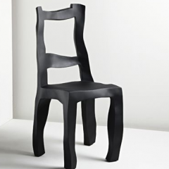 'Sculpt'  dining chair by Maarten Baas