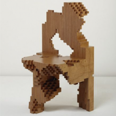 """Best Test 1-400"" or ""Computational"" chair by Philippe Morel, 2004"