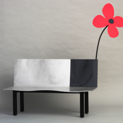 Flower Bench by Aki Kuroda, 2007