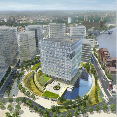 Design for new US embassy by KieranTimberlake Architects, 2010