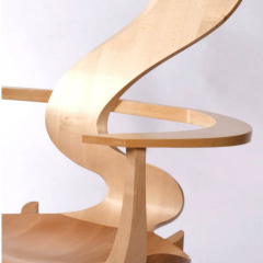 'Andromeda' chair by David Savage, 2010