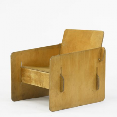 Puzzle lounge chair