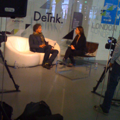 DeTnk.TV studio at Tent London