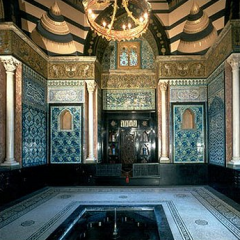 Arab Hall in the Leighton House, London