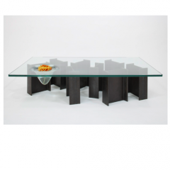 'Fish-I' coffee table by Rabih Hage, from the 'Roughed Up' Collection, 2009