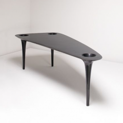 'Black Hole' table by Marc Newson