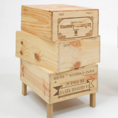 'Wood-Be Side Tables'  by Rabih Hage for 'Roughed Up' Collection, 2009