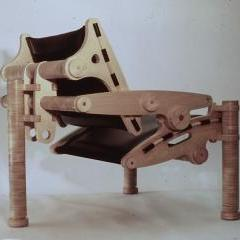 TRANSFORMATIONIST III chair, sub titled [Edifice Rex]