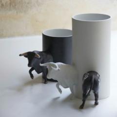 """""""Minotaures"""" by Sacha Walckhoff at Gallery Gosserez"""