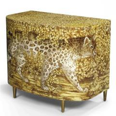 Leopard Chest of Drawers by Piero Fornasetti