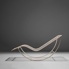 Rocking chaise longue by Ico Parisi