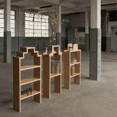Warehouse cabinets by Studio Janina Loeve