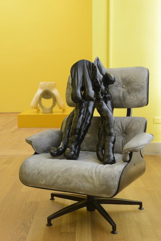 Sarah Lucas, I SCREAM DADDIO, Installation View, British Pavilion 2015. Photo by Cristiano Corte © British Council