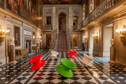 Spun chairs by Thomas Heatherwick, Make Yourself Comfortable at Chatsworth