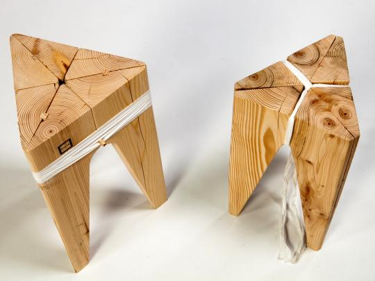 Just a Stool by Ran Elimelech