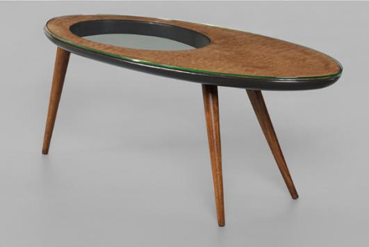 GIO PONTI rare coffee table estimate: $50,000–70,000