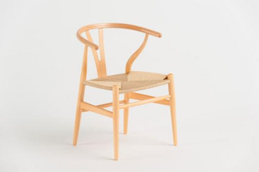 1949 Wish Bone Chair (miniature model) for Hans J. Wegner for Carl Hansen and Son added by John Pawson [image: Dominic French]