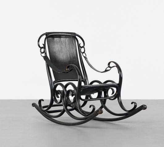 GEBRÜDER THONET Rocker No. 3 estimate: $3,000–5,000