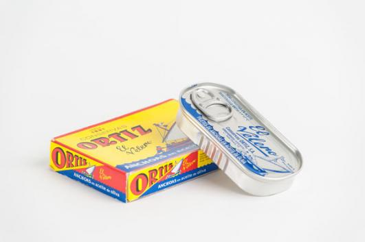 Tin of Anchovies added by Sir Terence Conran  [image: Dominic French]