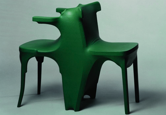 Kokon Double Chair by Jurgen Bey, 1997 Photo Credit: Droog Design