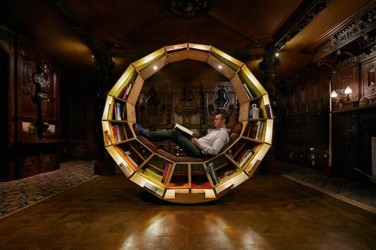 Long-Form-Library by Thomas Mills for ifsodoso, Make Yourself Comfortable at Chatsworth