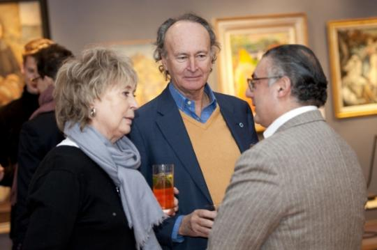 Liz Elliot, Christophe Gollut & Rabih Hage at DeTnk Launch