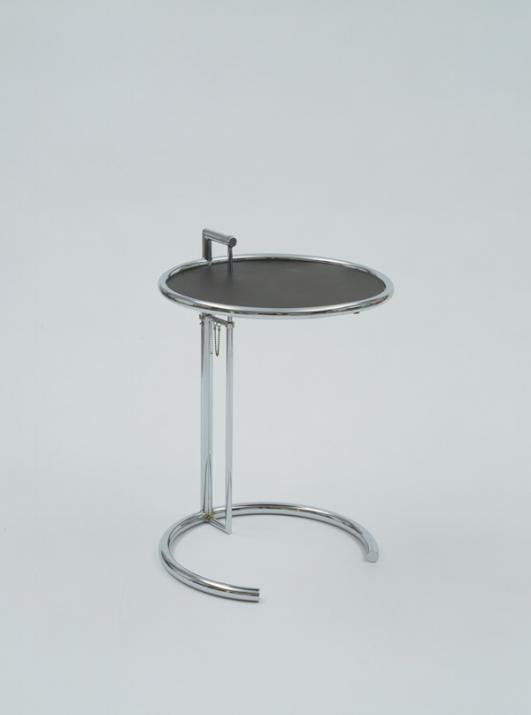Eileen Gray (British, born Ireland. 1879–1976). Adjustable table. 1927.