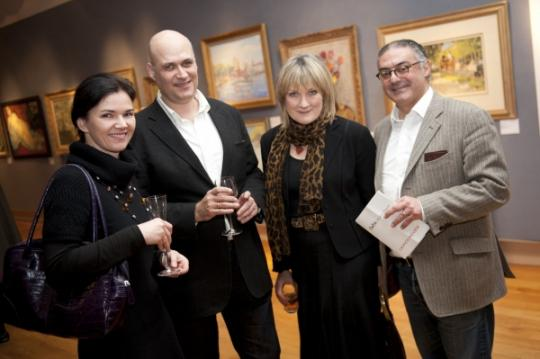 Edwin Heathcote, Christina Heathcote, Sue Crewe & Rabih Hage at DeTnk Launch