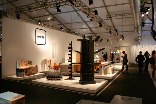 Moss New York booth at Design Miami, 2009