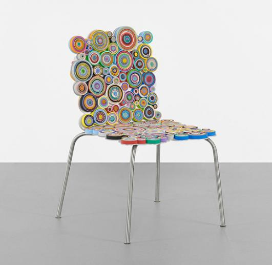 FERNANDO AND HUMBERTO CAMPANA Harumaki chair from the Sushi series estimate: $8,000–10,000
